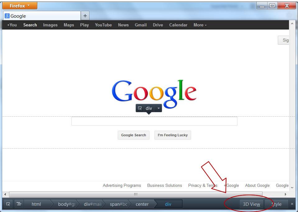 View Website In 3d Using Firefox Rochcass