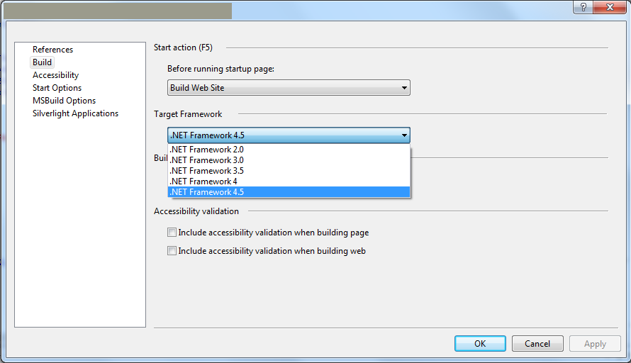 how to find out net framework version